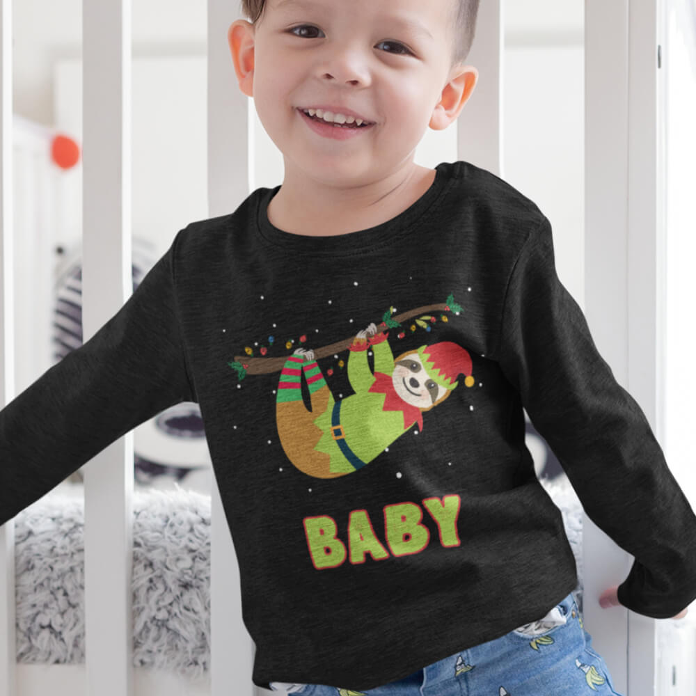 Custom Sweatshirt Elf Sloth Baby | Artistshot