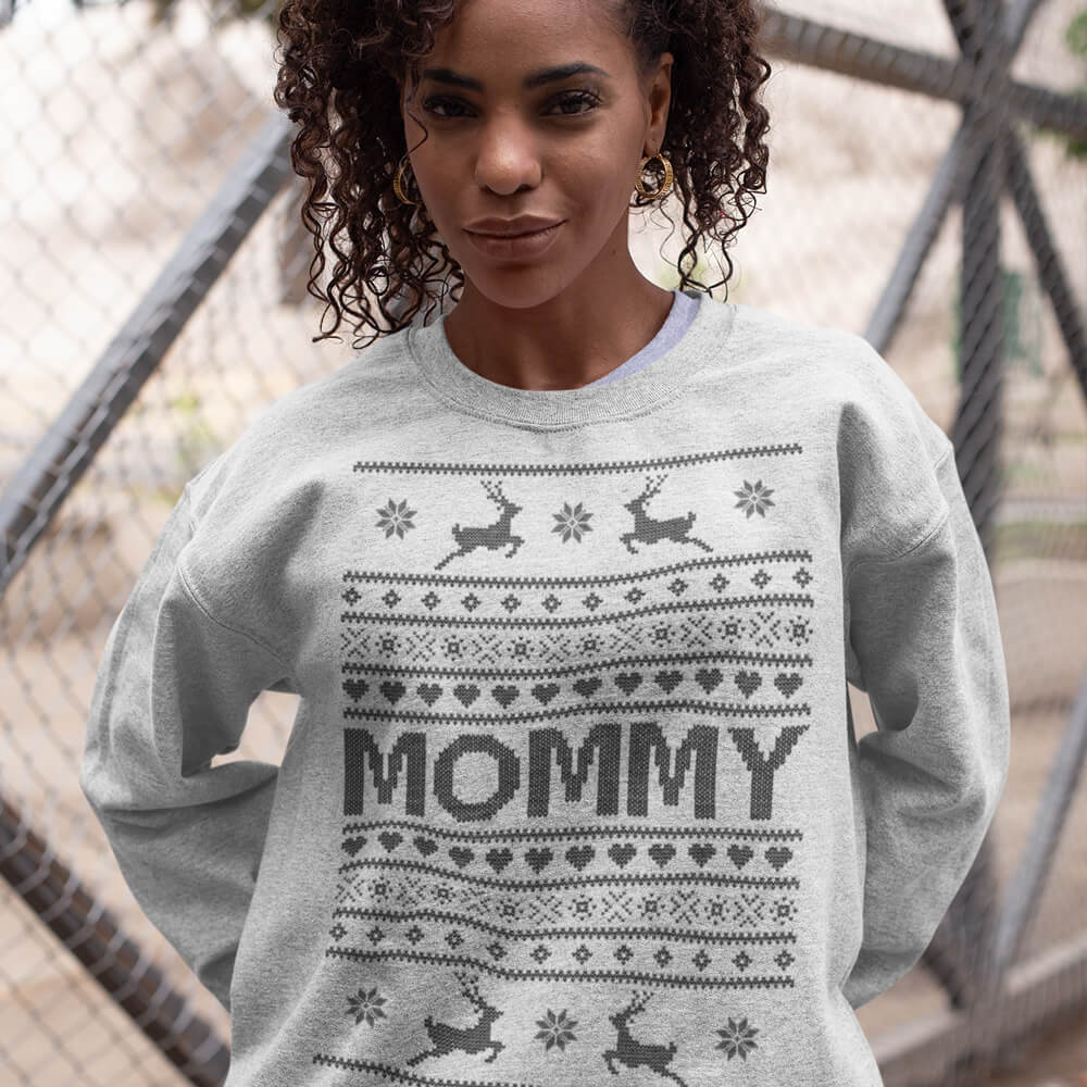 Custom Sweatshirt Ugly Mommy | Artistshot