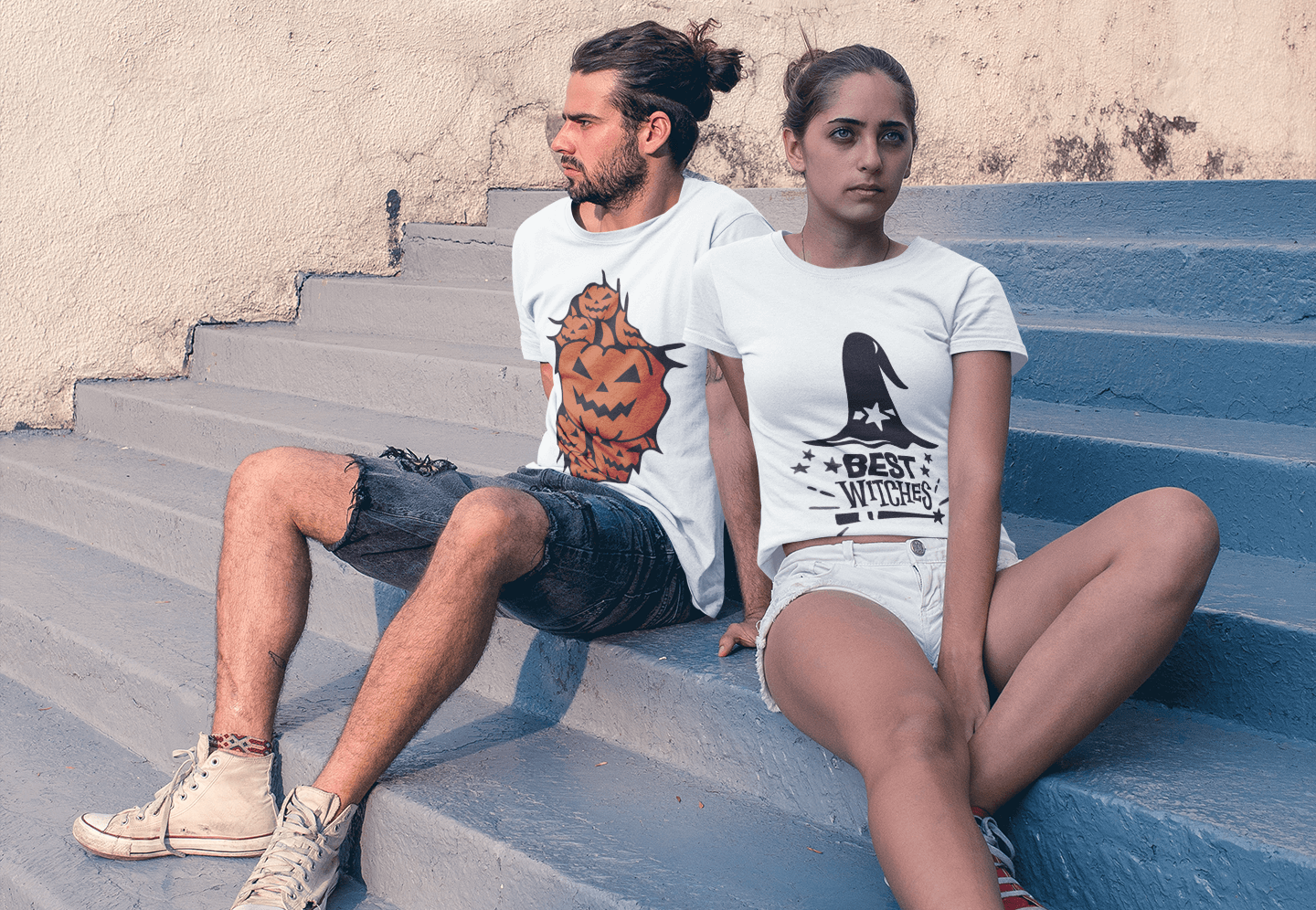 Custom Couple T-Shirts | Artistshot